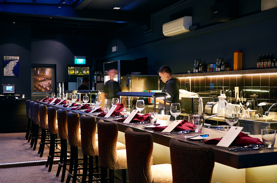 labyrinth, restaurant, singapore, photographer, jill chen, food, fine dining, commercial, neil road