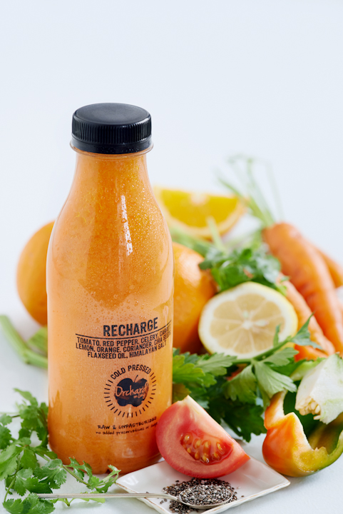 food, stylist, orchard on long, cape town, long street, juice, health, photography, recharge